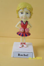 GIRLS / WOMEN  CHEERLEADER NAMESAKE BOBBLE HEAD -   PERSONALIZED - SEE NAME LIST