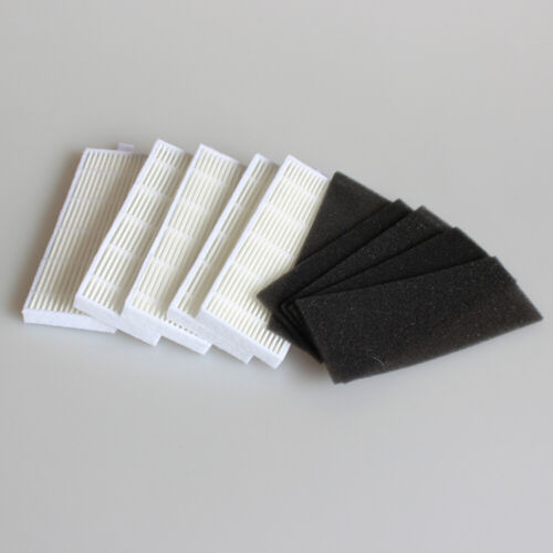 5x HEPA Filter for ilife A4s A6 A4 A40 //Ecovas DN621 X620 Robot Vacuum Cleaner