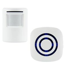 Wireless Motion Sensor Detector Door Gate Entry Bell Welcome Chime Alert Alarm