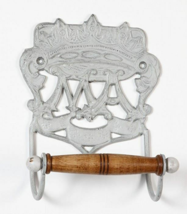 Acabado gris  Royal Camelot  período Portarrollos de hierro fundido