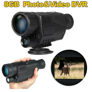 Hunting-Night-Vision-Telescope-Portable-Infrared-Camera-Video-Monocular-5X-Zoom