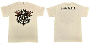 MOONSPELL-cd-lgo-ALPHA-NOIR-OMEGA-WHITE-Official-White-SHIRT-XL-new
