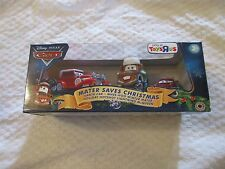 Disney Pixar Cars Mater Saves Christmas Santa McQueen 3 Pack Toys R Us Exclusive