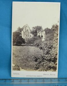 Image Is Loading 1870s CDV Carte De Visite Photo Dryburgh Abbey