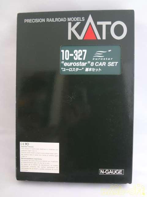 Kato 10-327 EuroStar Model Train 8 Cars Set London N Scale Euro Star Toy Japan