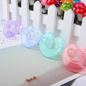 Newborn Baby Kids Orthodontic Dummy Pacifier Silicone Teat  Nipple Soother CA