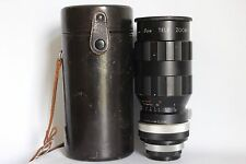 SUN TELE ZOOM 110-180 MM 1:4.5 ZOOM LENS M42 FIT + CASE GOOD CONDITION (USED)