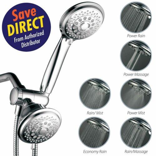 HotelSpa® Luxury 30-Setting 3-Way Shower Head Combo