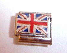 UNION JACK FLAG Italian Charm fit 9mm Classic Starter Bracelets UK Great British