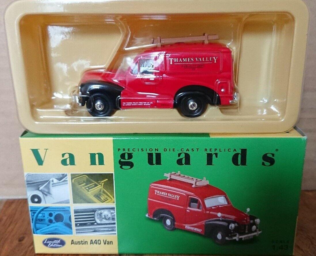 CORGI VA00316 AUSTIN A40 VAN Thames Valley Ltd Edition No 0001 de 4000