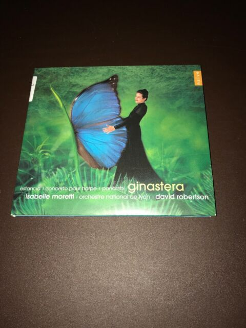 Ginastera Concerto Pour Harpe CD Moretti/Robertson 2187