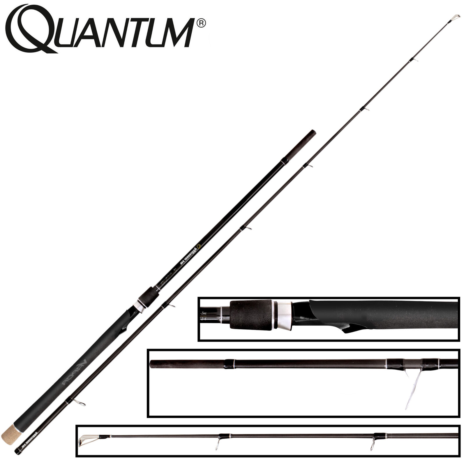 Quantum Vapor Aggressor X-Heavy Lure 245cm 35-140g 35-140g 245cm - Hechtrute, Spinnrute, Rute a09d34