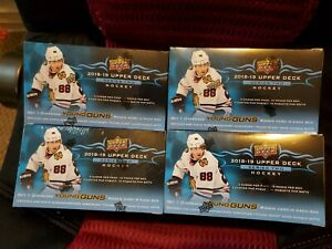 Brand-New-Factory-Sealed-2018-2019-Upper-Deck-Series-Two-Hockey-Box-Rookie-Cards