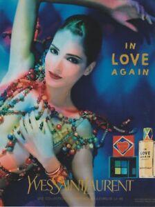 Publicité papier - advertising paper -In Love Again d'Yves Saint Laurent