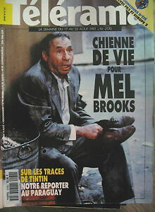 2170-MEL-BROOKS-SUR-LES-TRACES-DE-TINTIN-L-039-OREILLE-CASSeE-SEMPe-6-TELERAMA-1991