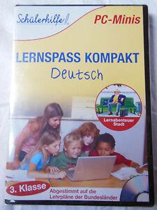 Schuelerhilfe-PC-Minis-Lernspass-Kompakt-Deutsch-3-Klasse-98-XP-OVP