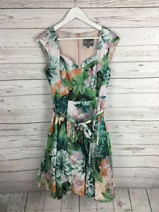 PHASE-EIGHT-Summer-Dress-UK12-Floral-Great-Condition-Women-039-s