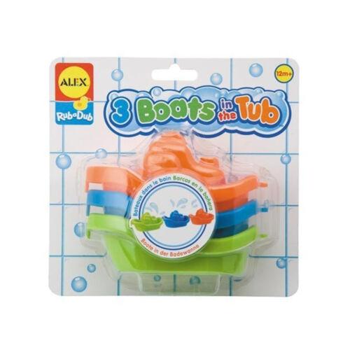 Boote für die Badewanne von Alex Wasserspielzeug Badespaß