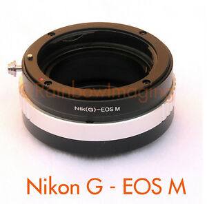 Nikon-G-AFS-lens-to-CANON-EOS-M-Mirrorless-Camera-M-M2-M3-M10-Adapter-Aperture