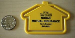 NODAK Mutual Insurance Needs all Under One Roof Plastic Bookmark #30877