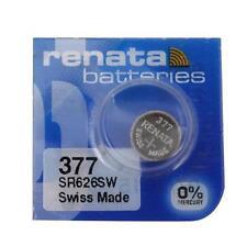 Renata 377 (SR626SW) Swiss Made Watch Battery Brand New