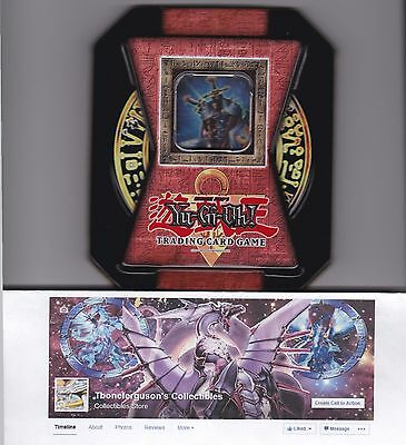 - 2004 Collectors Tins Secret Rare Yu-gi-oh! Ct1- En001 Total Defense Shogun Limited Edition