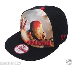 New Era Iron Man Cap Hat Men s 950 Sub Front Adjustable Baseball ... 4c91ca3a7dc
