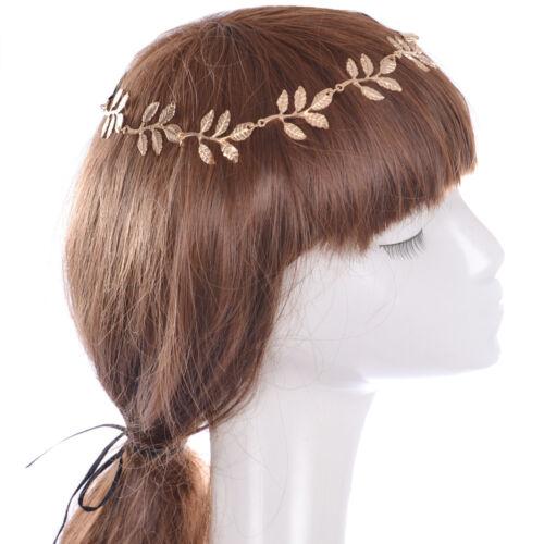 Mode féminine alliage strass tête chaîne bijoux Bandeau Head Piece Hair band
