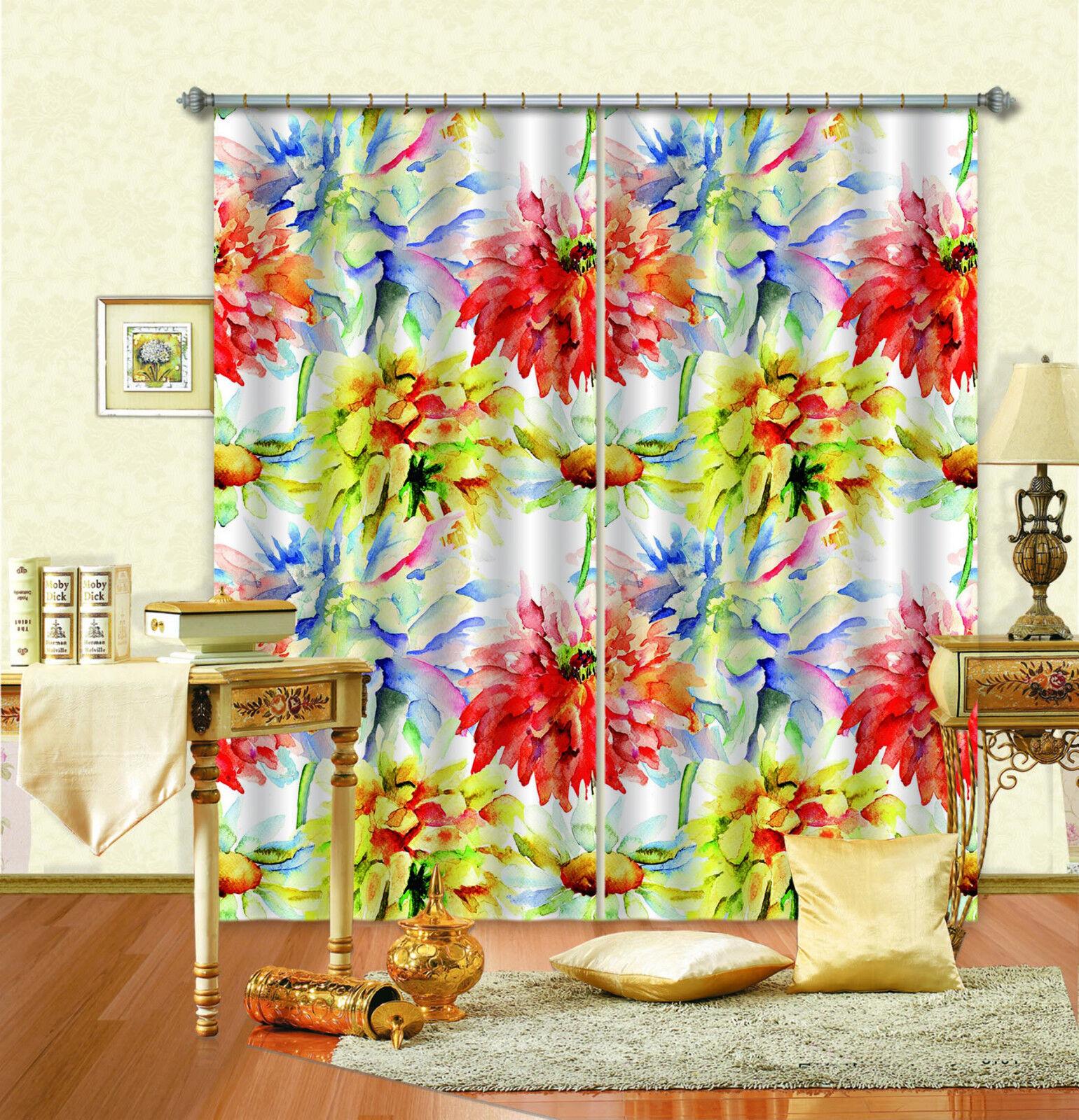 3d azulme pintura 47 bloqueo foto cortina cortina de impresión sustancia cortinas de ventana