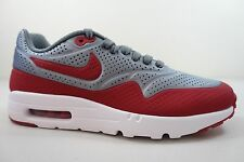 best website c3a3c 63689 item 4 MEN S NIKE AIR MAX 1 ULTRA MOIRE SHOES SIZE 7 grey red white 705297  006 -MEN S NIKE AIR MAX 1 ULTRA MOIRE SHOES SIZE 7 grey red white 705297 006