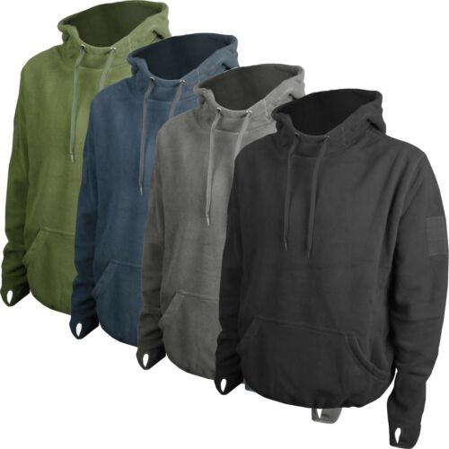Tactical Military Army Combat Fleece Hoodie Airsoft Hunting Hiking Security