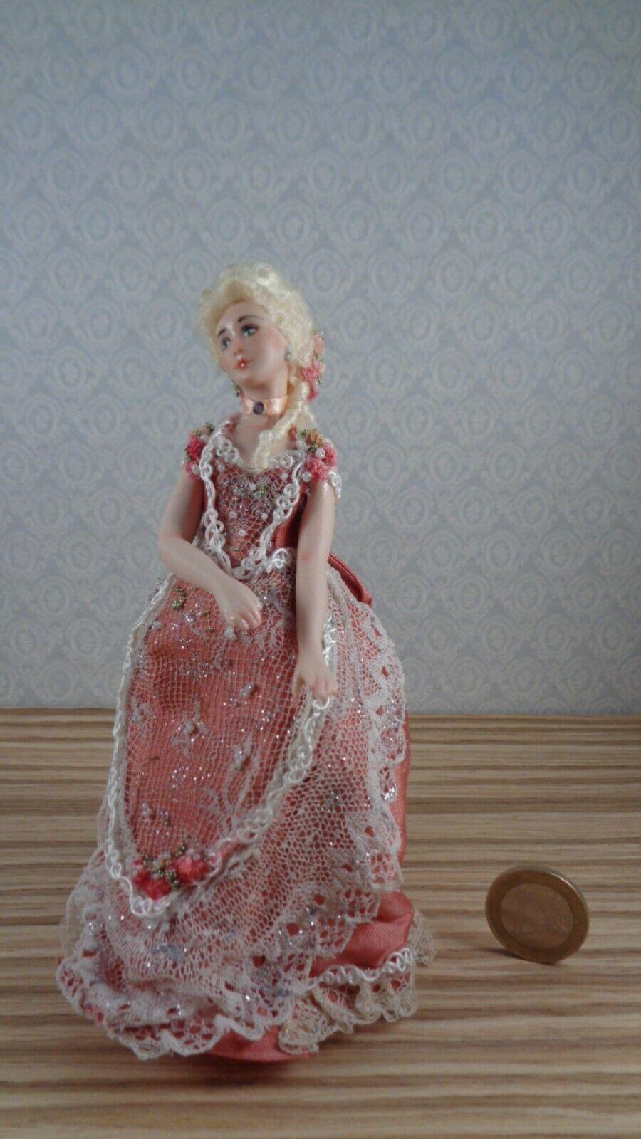 vendita online MINIATURE bambola    OOAK  bambolaHOUSE  1 12 SCALE  PORCELAIN  più sconto