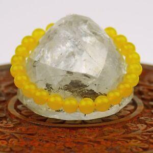Bracciale GIALLO CITRIN Stone Gioielli Nepal 132