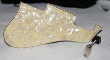 ES 335 PICKGUARD AND NICKEL BRACKET  CUSTOM MADE VANILLA EGG Ivory Pearl