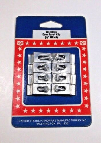 US Hardware 8 Storm /& Screen Clips for Mobile Homes #WP-8833C