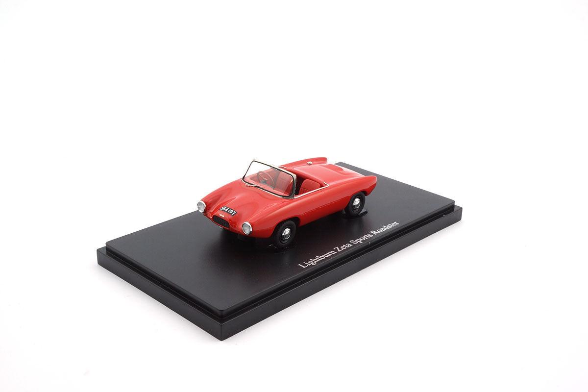 02005 - autocult Lightburn Zeta Sports Roadster-Rouge - 1 43