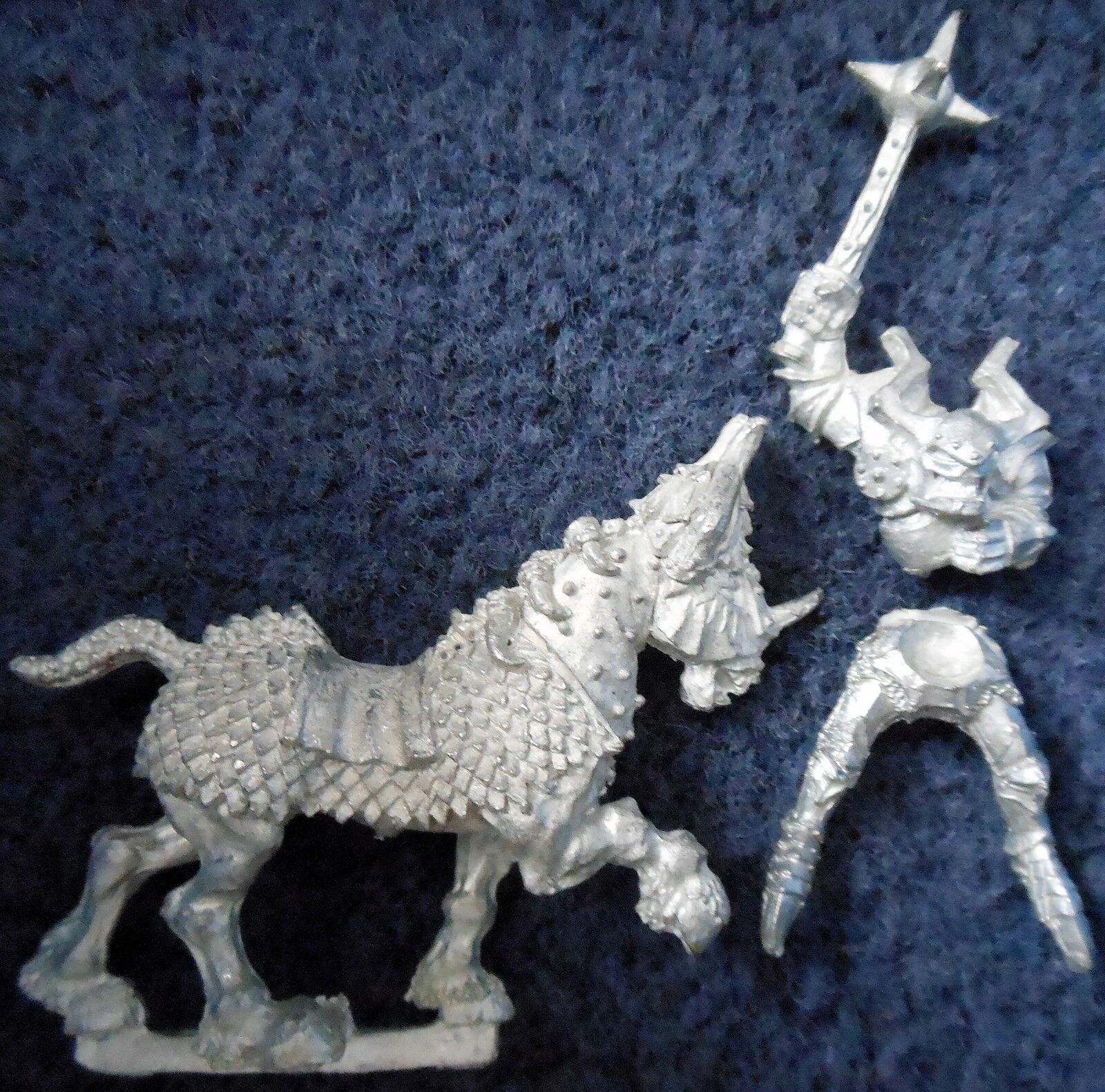 1988 Chaos Knight 0221 01 Games Workshop Warhammer Army Realm of Warrior Cavalry