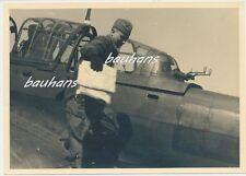 Foto Pilot-Flugzeug/Airplane Ju 87- 900 Feindflug - 2./St.G.2 Immelmann (Q679)