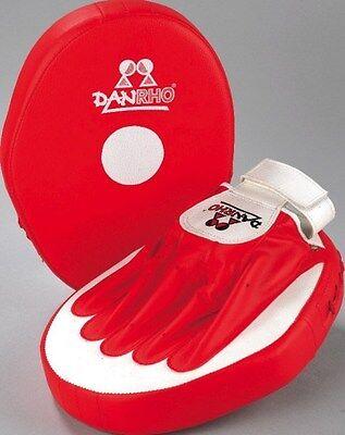 Kickboxen Coaching Mitt Set Fitman Plus Karate TKD Boxen Pratze Dan Rho