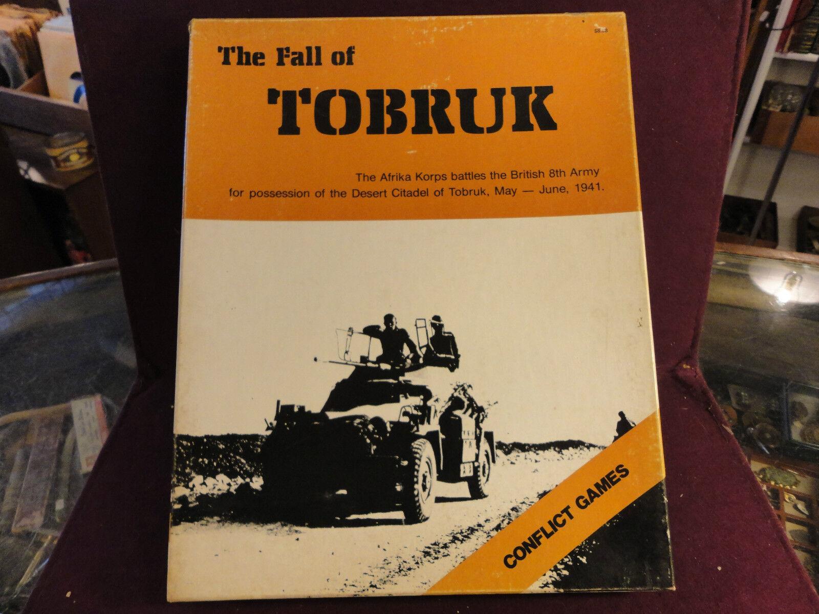 La caída de Tobruk   mayo-junio 1941 por conflictos Juego