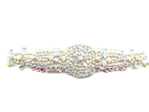 Stunning Bridal Diamante Belt Crystal Rhinestone Wedding Dress Sash Belt