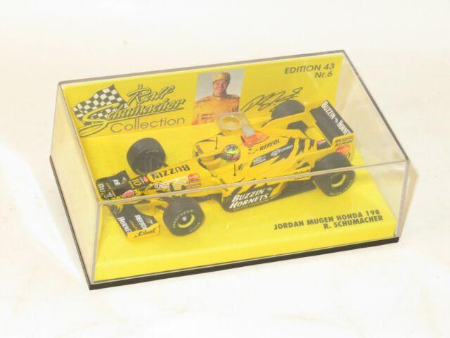 1/43 Jordan Mugen Honda 198 Buzzin Hornets  1998 Season  Ralph Schumacher