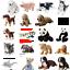 miniatura 1 - IKEA-PELUCHE-PANDA-SQUALO-CANE-ANIMALI-Natalizi-per-Bambini-Giocattolo-Peluche-Peluche