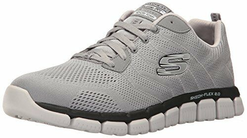 Skechers Sport Mens Skech Flex 2.0-Milwee Fashion Sneaker- Select Price reduction