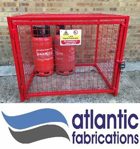 GAS CYLINDER Security Cage Propane 6 x 19kg BOTTLE 1100w x 900h  x 850d