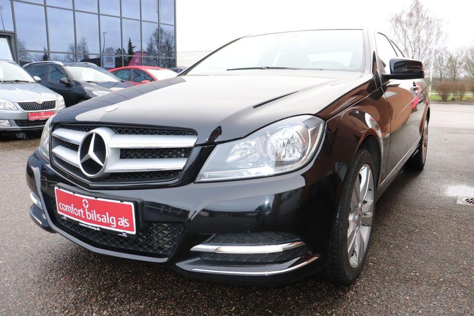 Mercedes C180 1,8 Coupé BE Benzin modelår 2012 km 99000