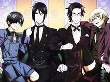 Manga Anime Black Butler Present Gift Box Ribbon Canvas Art Print