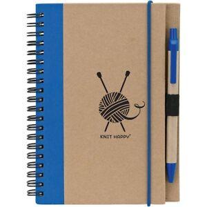 K1c2-Knit-Happy-Eco-Journal-W-pen-blue