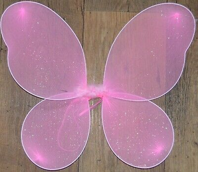 NEW White half swirl fairy wand butterfly childrens party fancy dress hen do