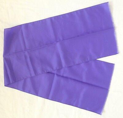 Bello Viola Hippy Mod Gogo 1960s Lunga Vintage Collo Sciarpa-mostra Il Titolo Originale Vincere Elogi Calorosi Dai Clienti